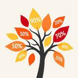 money tree tree autumn leaves stock illustrations 34 money tree