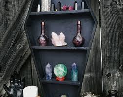 coffin decor etsy