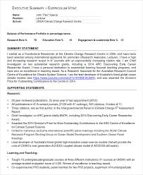 executive summary for resume examples sample executive reports