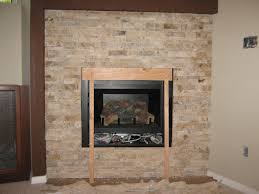 stone tile fireplace echo tile and stone