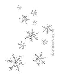 pictures of snowflakes to print free download
