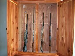 Wood Gun Cabinet Gun Cabinet By Griff Lumberjocks Com Woodworking Community