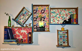 clever design drawer shelves upcycle dresser drawers as hanging 10
