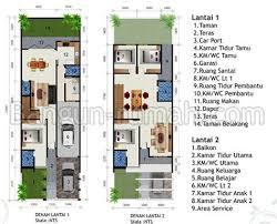 desain rumah lebar 6 meter desain rumah tingkat lebar 6 meter rumah minimalis cat hitam putih
