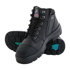 Light Work Boots Steel Blue Parkes Zip Safety Boots S3 Buy Online Burt U0027s Boots