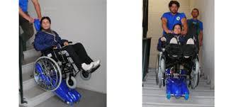 sedie per disabili per scendere scale montascale portatile a cingoli riconducibile