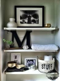 Bathroom Shelf Over Toilet by Emerson Grey Designs Nursery Interior Designer Styling Shelves