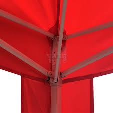 Steel Pop Up Gazebo Waterproof by Foxhunter Waterproof 3x3m Pop Up Gazebo Marquee Garden Awning