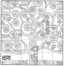 kandinsky coloring activity for kids with page glum me