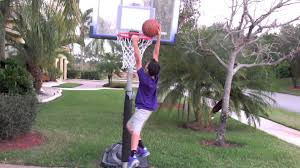 slam dunk contest backyard version youtube