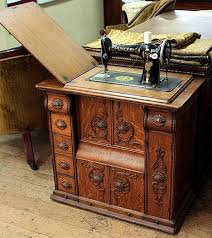Antique Singer Sewing Machine Table Sourcing Wood For Furniture Then U0026 Now The Singer Sewing Machine