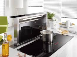 Another extraction solution for kitchen islands is the Miele