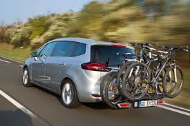 opel meriva 2014 opel flexfix carries up to four bicycles for drive and ride fun