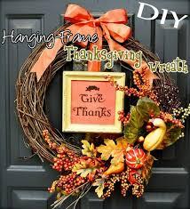 thanksgiving wreath diy hanging frame thanksgiving wreath top easy interior decor