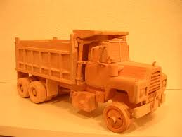 mack dump truck woodtoyz com a mack r model dump truck from way back