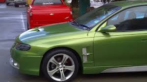 holden vt vx commodore bodykits monaro bodykit custom green with