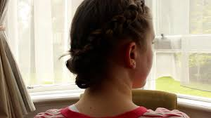 dutch lace braid into duck tail tuck u0027christmas party