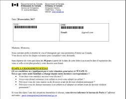 bureau des visas canada processus fédéral algériens page 3040 attendeux et