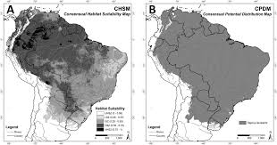 Co Surface Management Status Del Norte Map Bureau Of Land Management by Lowland Tapir Distribution And Habitat Loss In South America Peerj