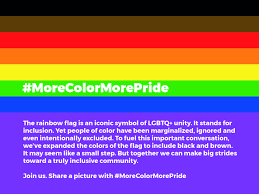 Black And Blue Flag Philadelphia U0027s Pride Flag Adds Two New Stripes To Recognize Lgbtq