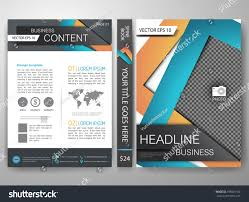 modern flyers brochure cover annual report stock vector 395061100