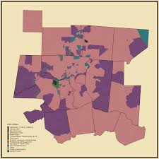 Wilmington Ohio Map by Prevalent Industry Statistical Atlas Of The United States