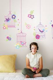 57 best wall art images on pinterest home wall murals and children chirping the day away wall art kit