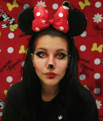 minnie mouse disney makeup minnie ears halloween minnie