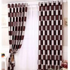 plaid curtains country plaid curtains