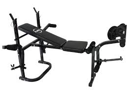 foldable gym fitness weight lift bench press arm leg curl abs