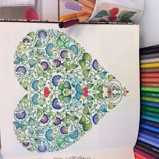 secret garden coloring book chile 60 best colouring hearts images on drawings garden