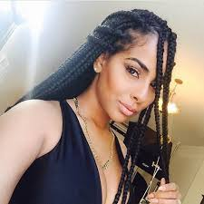 medium box braids with human hair 42 best big jumbo braids styles with images beautified designs