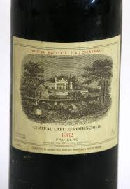 learn about chateau lafite rothschild 1982 chateau lafite rothschild pauillac bottle