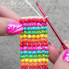 beaded bracelet crochet images Boho bead bracelet by donna wolfe from naztazia jpg