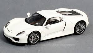 white porsche 2017 spark model s4242 porsche 918 spyder white 1 43 scale