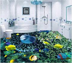 dolphin home decor online shop custom mural 3d flooring picture pvc self adhesive