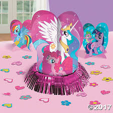 my pony centerpieces pony friendship is magic centerpiece set