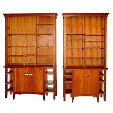 bookcase solid wood bookcases cherry solid cherry bookcase with