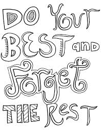 inspirational quotes coloring pages adults