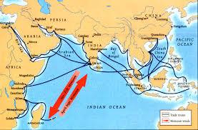 Indian Ocean Map Ap 17 211 Crash Course U2013 Int U0027l Commerce Snorkeling Camels And