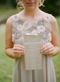Kraft Paper Wedding Programs Madeline Josh U0027s Rustic Kraft Paper Tennessee Wedding Invitations