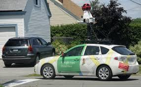 Google Snapshots Google Street View Car Taking Snapshots Of Maine U2014 Business