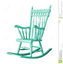White Rocking Chair Rocking Chair On White Background Stock Photo Image 61003069