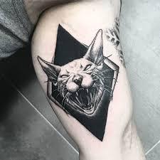 plus de 25 idées magnifiques dans la catégorie tatouage chat