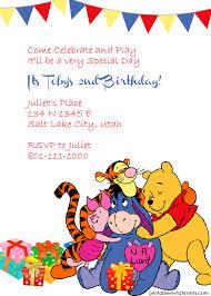 winnie pooh friends invitation wedding invitation