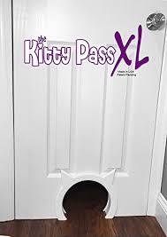 Interior Pet Door For Cats Kitty Pass Xl Large Cat Door Interior Large Pet Door Hidden