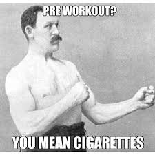 Old Boxer Meme - in the old days boxer with mustache