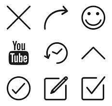 menu icons 1 186 free vector icons