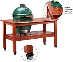 large green egg table design your big green egg asheville nc clean sweep the fireplace