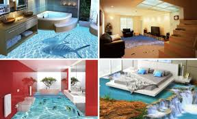 3d Design Your Home by 3d Floors Printed Photo Flooring